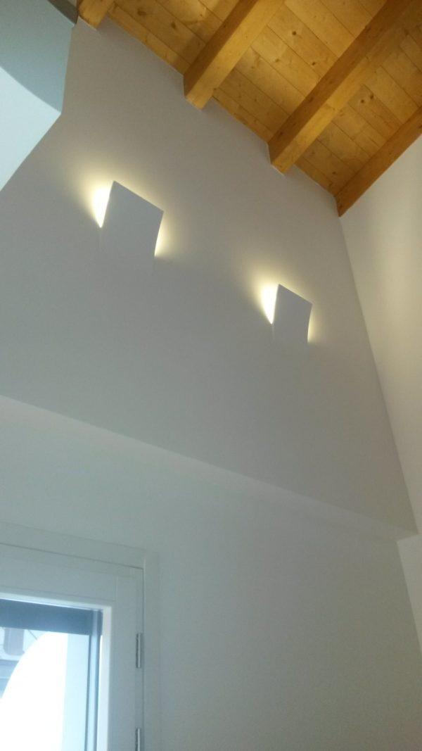 Illuminazione a parete