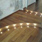 Illuminazione a pavimento