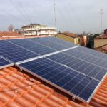 Impianto fotovoltaico su abitazione privata