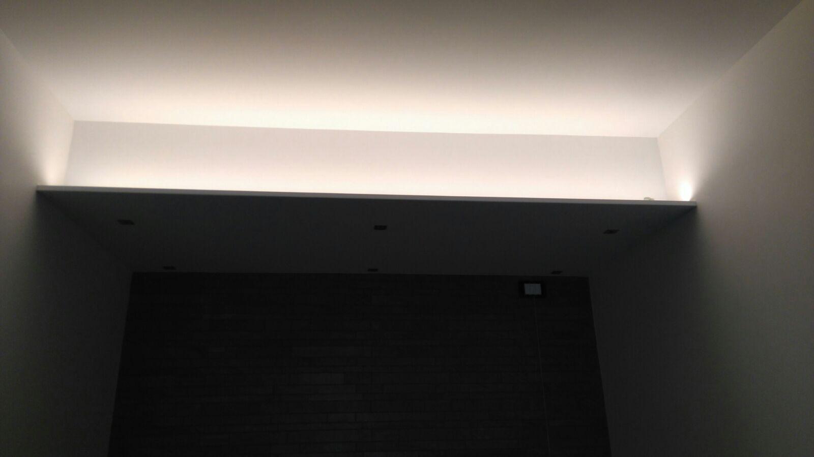 Illuminazione ambienti interni casa privata euroelettra impianti