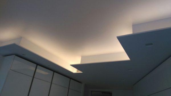 Illuminazione ambienti interni casa privata